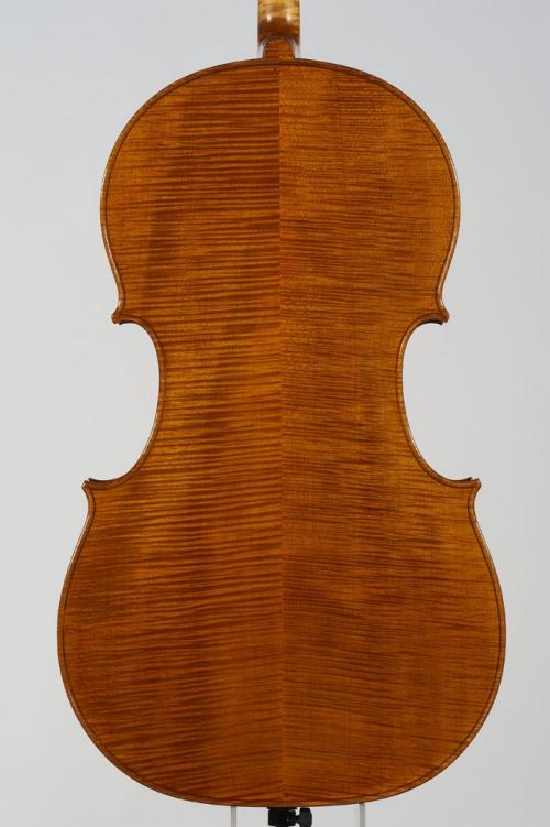Michele Dobner Liutaio a Cremona Violoncello Modello F. Ruggeri Anno di realizzazione 2011