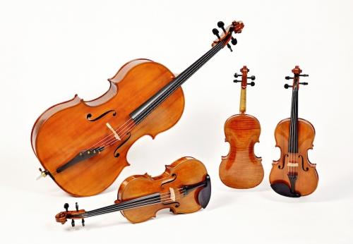 quartetto gaimmaria archi creati da MIchele Dobner Liutaio a Cremona