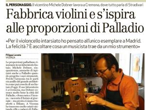 Michele Dobner e le proporzioni di Andra Palladio