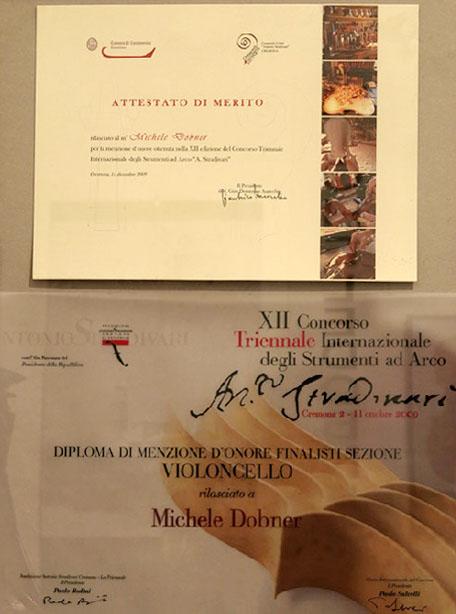 XII Concorso Internazionale degli strumenti ad arco Michele Dobner Liutaio cremonese in Lombardia